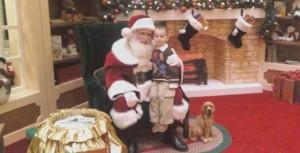 Ayden and Santa